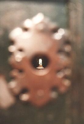 nøglehullet i rom